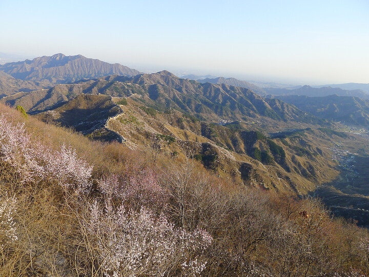 Jiankou Great Wall to Beigou Village sundown hike, 2021/04/04 photo #15