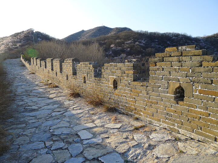 Jiankou Great Wall to Beigou Village sundown hike, 2021/04/04 photo #18