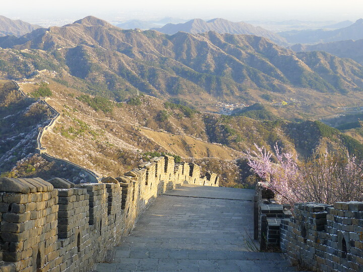 Jiankou Great Wall to Beigou Village sundown hike, 2021/04/04 photo #19