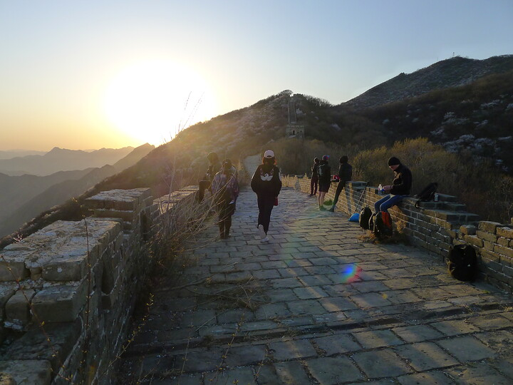 Jiankou Great Wall to Beigou Village sundown hike, 2021/04/04 photo #21