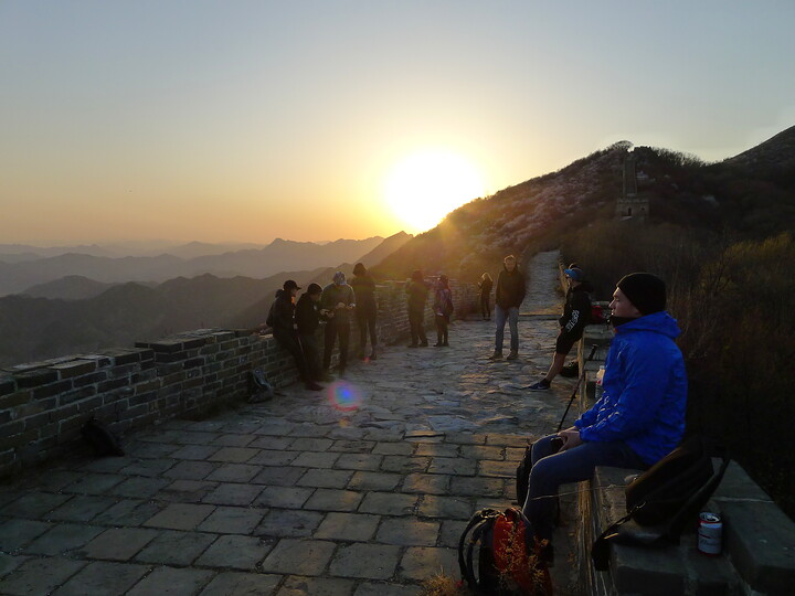 Jiankou Great Wall to Beigou Village sundown hike, 2021/04/04 photo #22