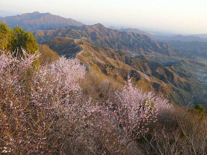 Jiankou Great Wall to Beigou Village sundown hike, 2021/04/04 photo #24