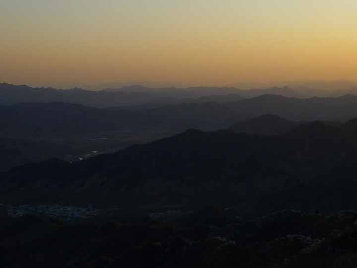 Jiankou Great Wall to Beigou Village sundown hike, 2021/04/04 photo #27