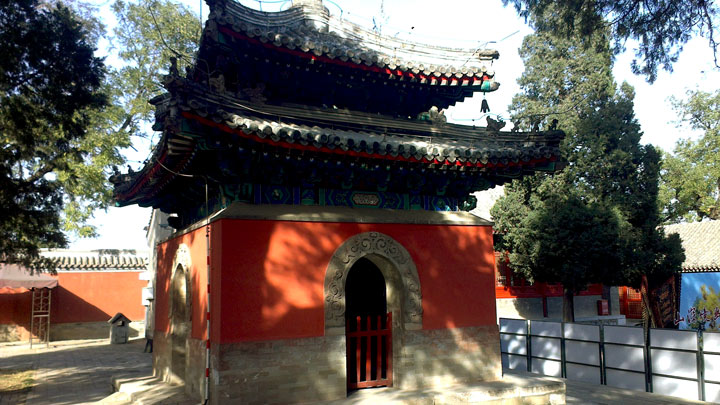 The Drum Tower at Dajue Temple