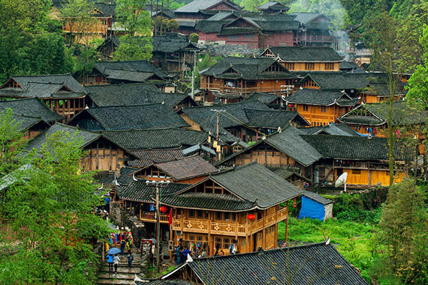 Views of the City of the Miao Kings