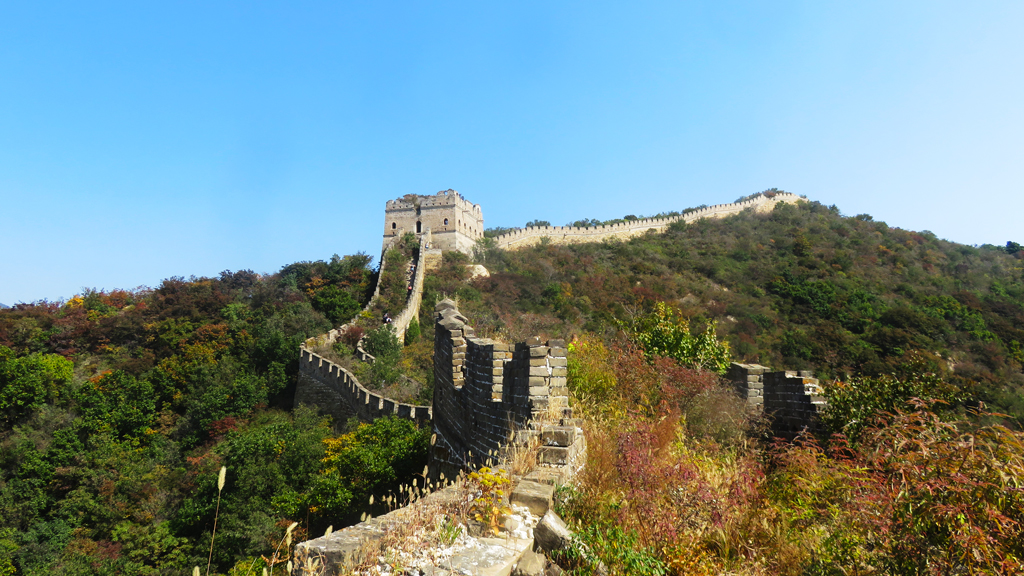 Great Wall Spur | Autumn colours surround the 'wild' Great Wall Spur