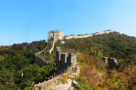 Autumn colours surround the 'wild' Great Wall