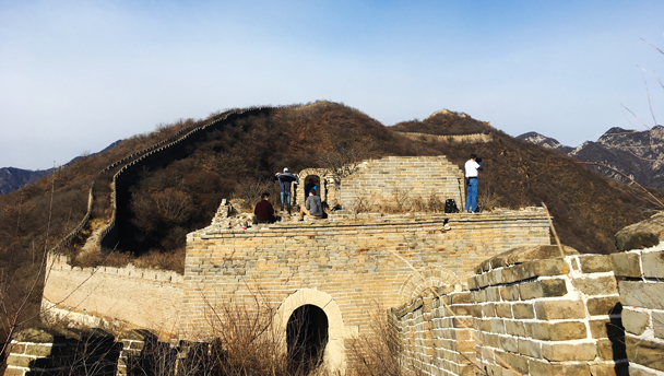 Great Wall Spur | Exploring a tower on the Great Wall Spur
