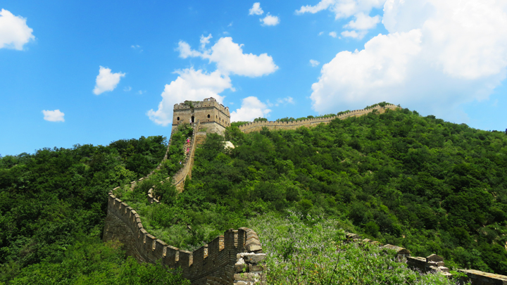 Clouds over the Great Wall Spur