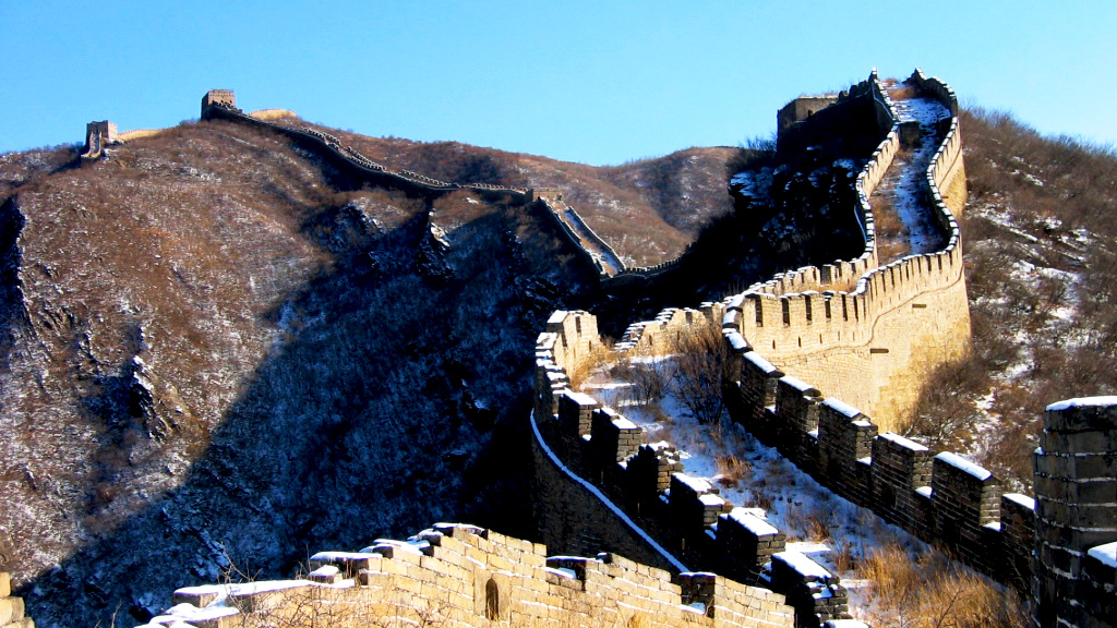 Great Wall Spur | Snow on the Great Wall Spur