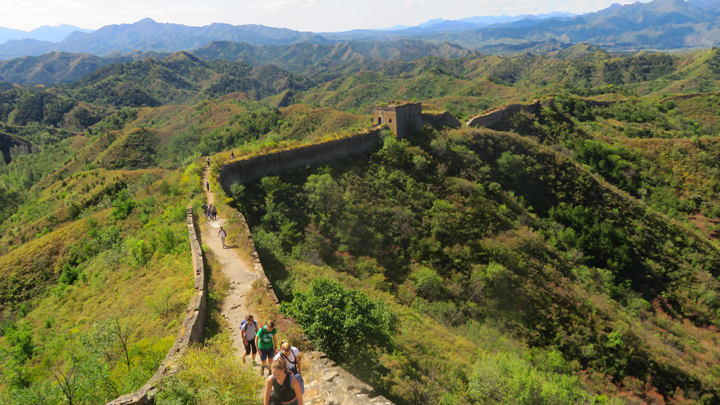 Hiking from Gubeikou to the Jinshanling Great Wall