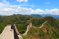 Long views of all the Great Wall at Jinshanling