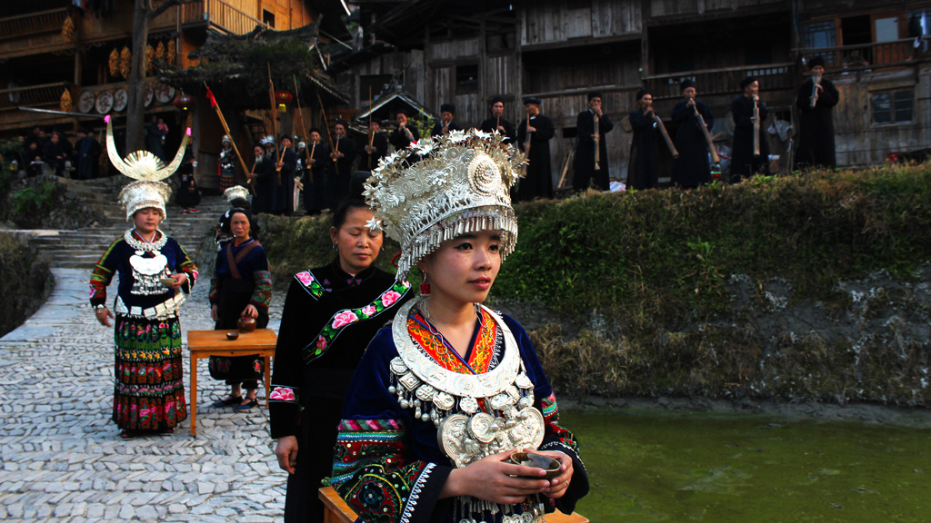 Guizhou Miao and Dong culture | A traditional welcome to a Miao village