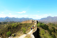 On the Great Wall at Gubeikou