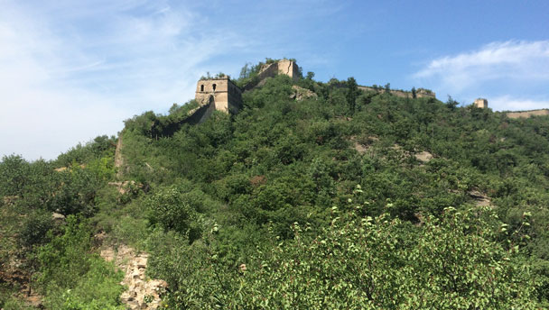 A stretch of Great Wall at Huanghuacheng