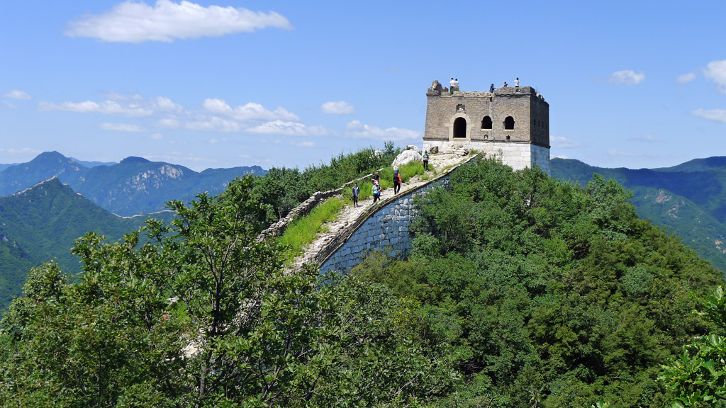 Jiankou to Mutianyu Great Wall | Zhenbei Tower at the Jiankou Great Wall