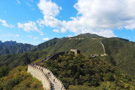 Looking across the Mutianyu Great Wall