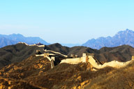 Looking back towards Gubeikou, from the west side of the Jinshanling Great Wall