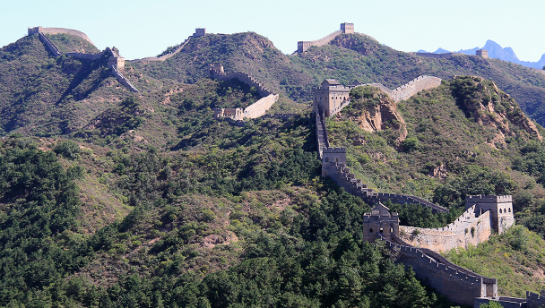 The towers of the Jinshanling Great Wall