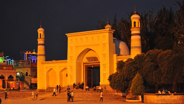 The Id Kah Mosque, Kashgar