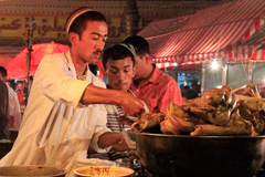 The night market at Kashgar