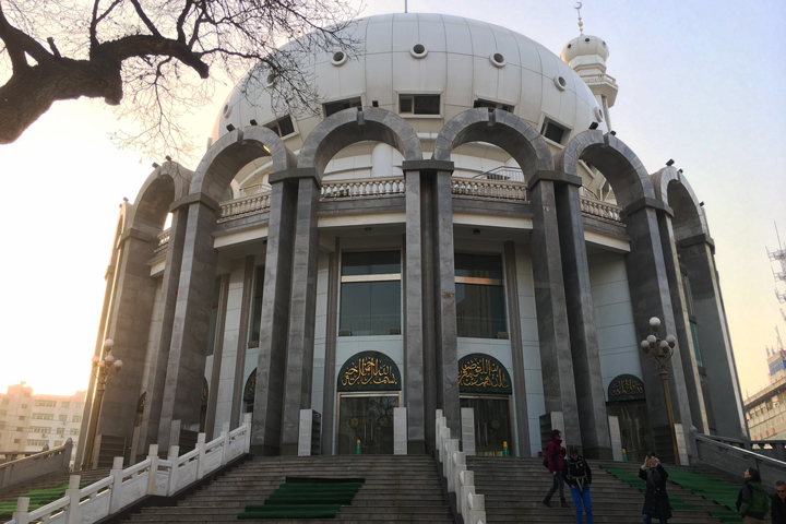 The Lanzhou Mosque