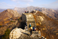 The top section of the Longquanyu stretch of Great Wall
