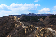 Long views of the Longquanyu stretch of Great Wall.