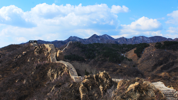 Longquanyu Great Wall | Long views of mountains and Great Wall from Longquanyu