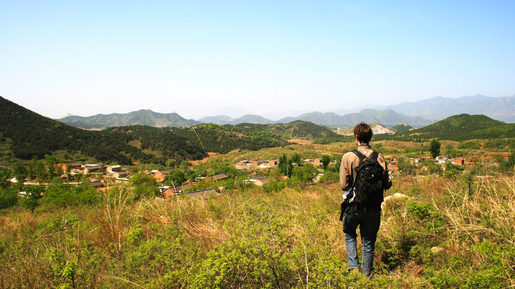 Rolling Hills | A view of Stonewall Village, nestled in the rolling hills of Miyun District