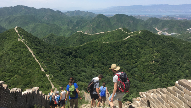 Switchback Great Wall | Hiking on the 'wild' Great Wall in Yanqing District