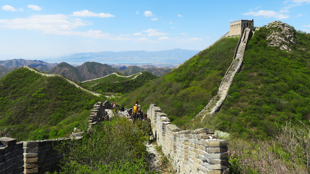 Stone Valley Great Wall | Approaching the General's Tower
