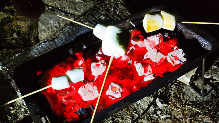 BBQ marshmallows