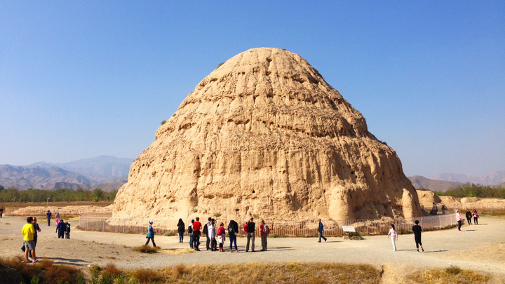 The Western Xia Imperial Tombs
