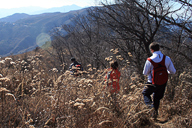Hiking on the ridgelines near Miaofengshan