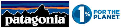 Patagonia and One Percent for the Planet logo