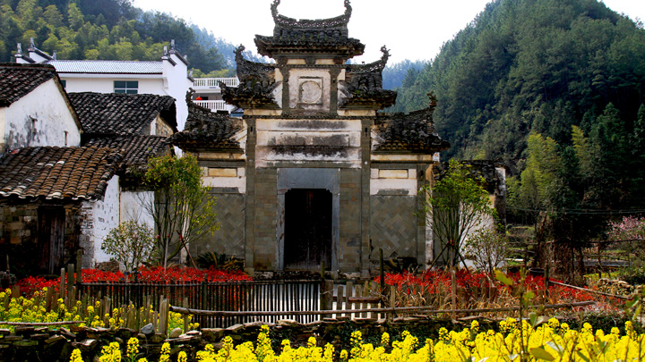 Southern-style architecture in Wuyuan