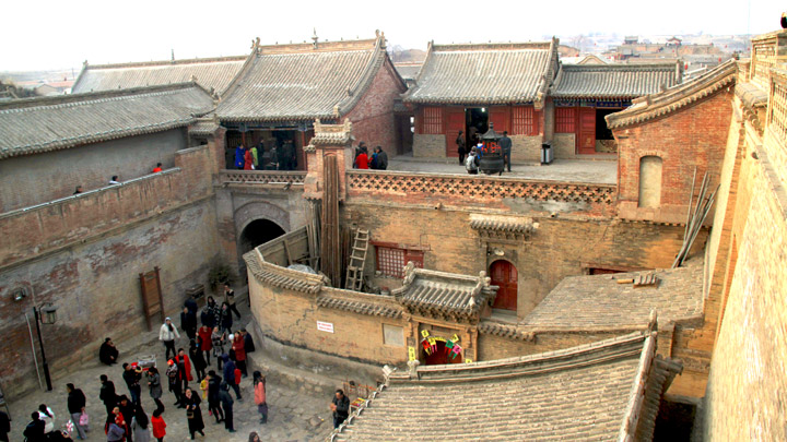Xigubao Castle at Nuanquan Town, Yu County