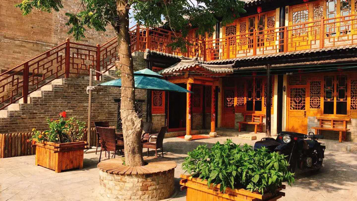 The guesthouse in Nuanquanzhen