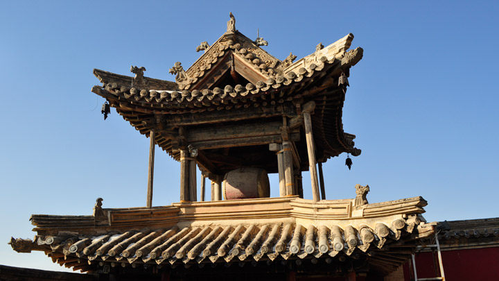 The Drum Tower at Jade Emperor Pavilion
