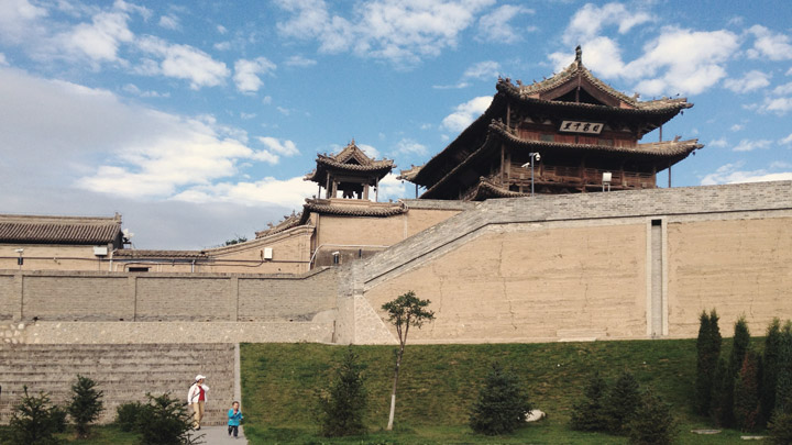 Jade Emperor Pavilion and the Yuxian city walls