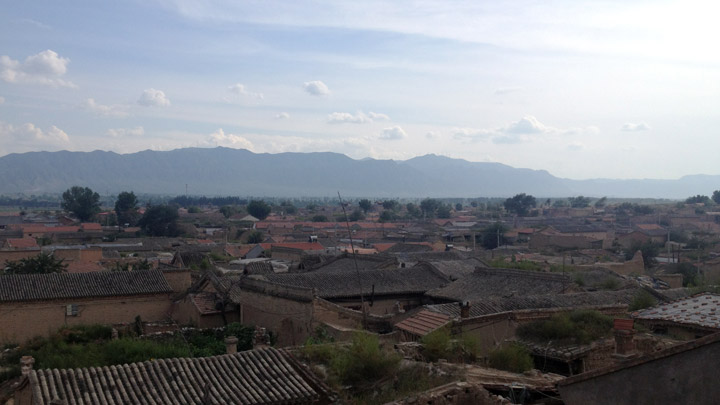 A view over Yuxian Town