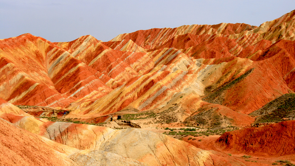 Zhangye Danxia Landform | The coloured hills of the Zhangye Danxia Landform