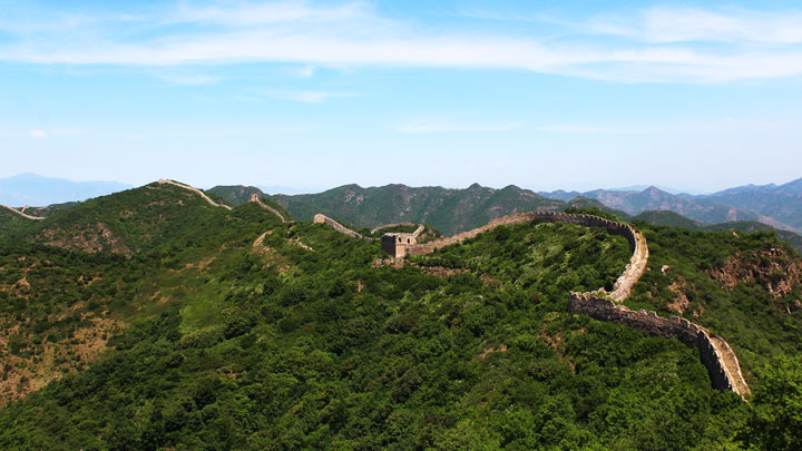 The Great Wall at Zhenbiancheng
